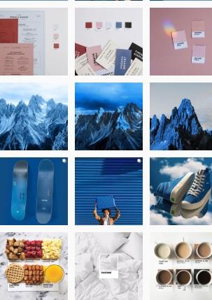ПРимер оформления Instagram